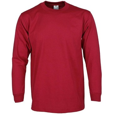 Red Long Sleeve Heavy Weight