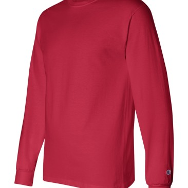 Red Long Sleeve Champion