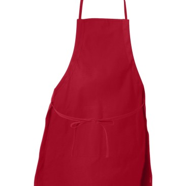 Red Apron Back View